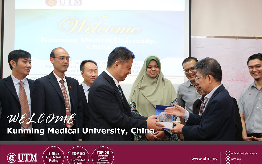 Welcome to Delegation From Kunming Medical University, China