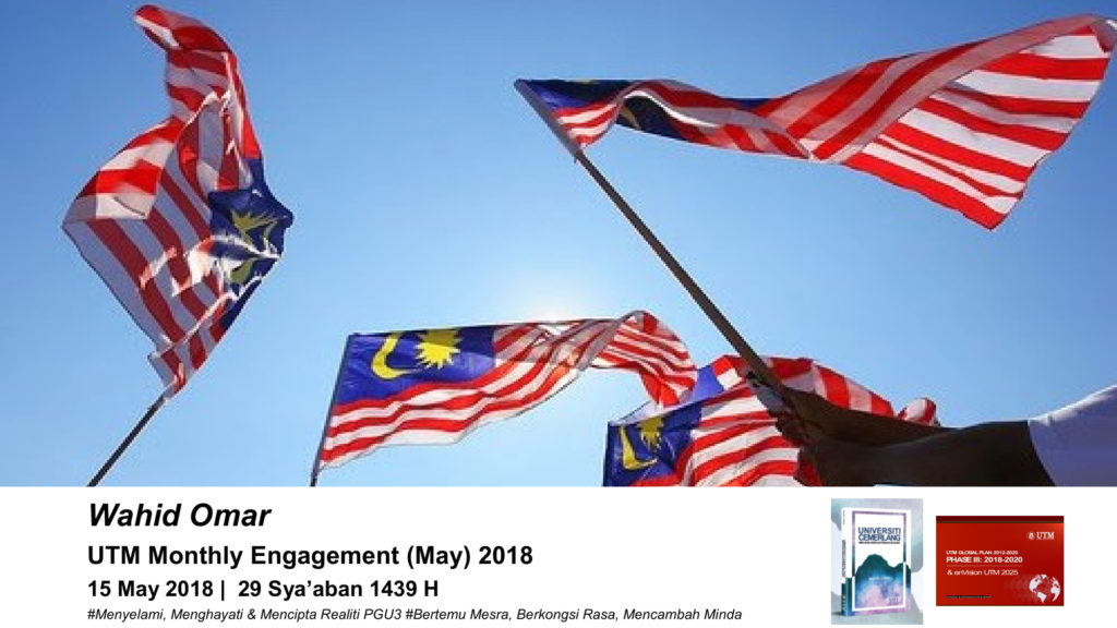 UTM Monthly Engagement @ 15 May 2018