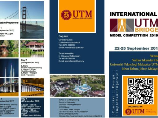 International UTMBridge Model Competition 2019