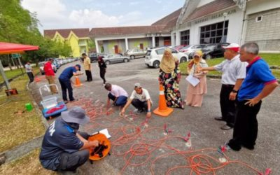 Training on Geophysical Methods for Road Construction and Maintenance Held at School of Civil Engineering, Universiti Teknologi Malaysia