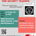 Web Security Course by IASRG