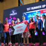 Eric Khoo of 4SCSR and his team won 1st runner up in CIMB 3D Conquest Grand Finale