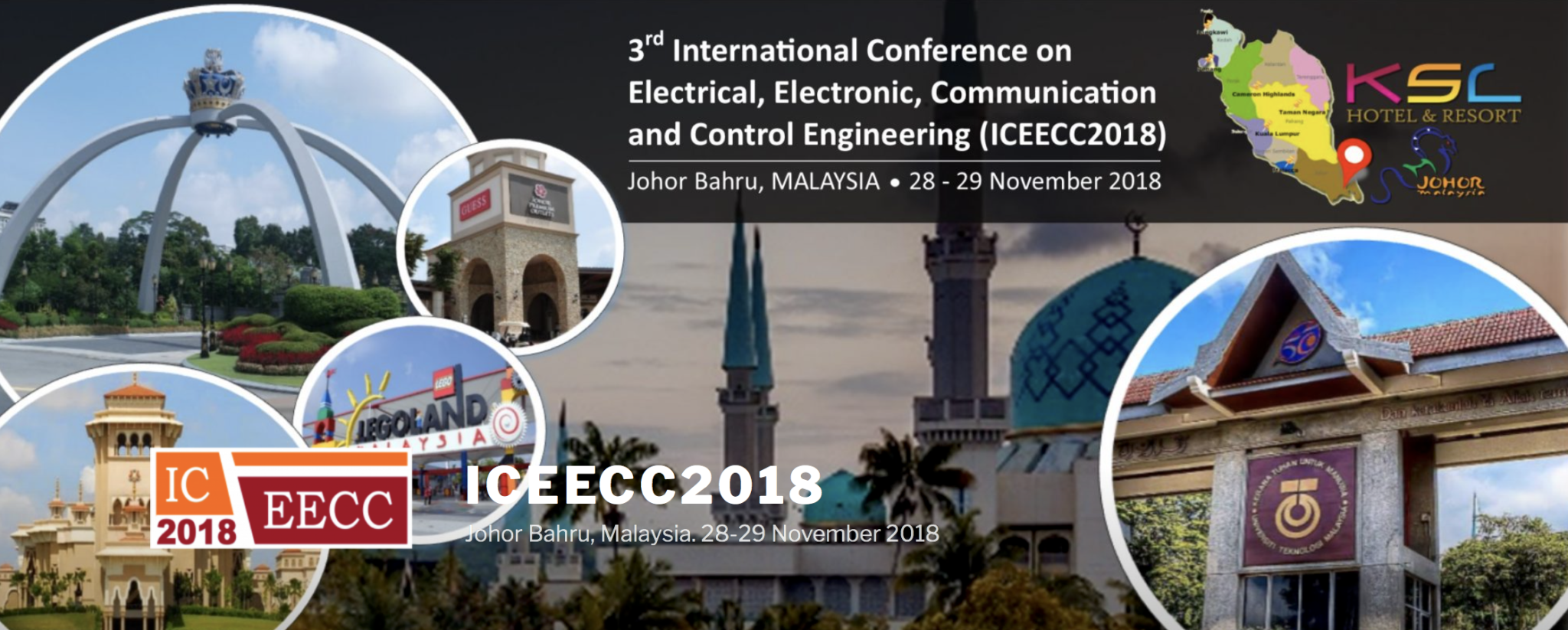 Call for Papers – The 3rd International Conference on Electrical, Electronic, Communication and Control Engineering (ICEECC 2018)