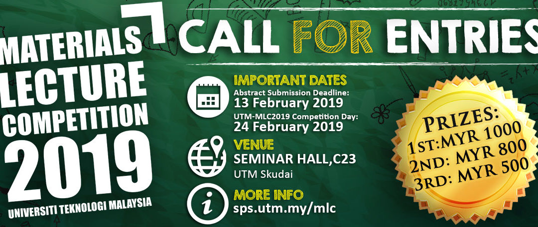 UTM Materials Lecture Competition 2019