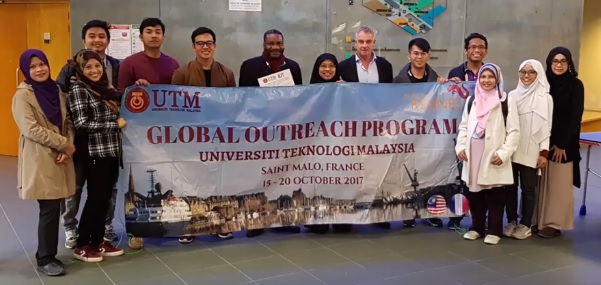 UTM Global Outreach Programme 2017 to France