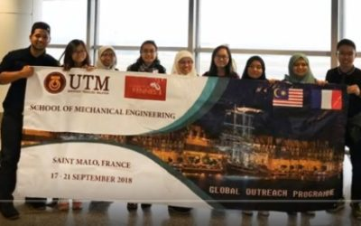 UTM Global Outreach Programme 2018 to France