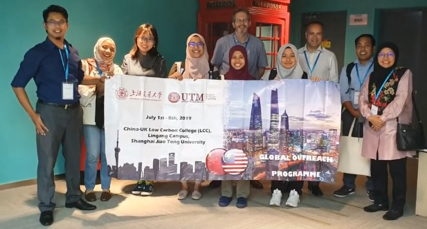 UTM Global Outreach Programme 2019 to Shanghai