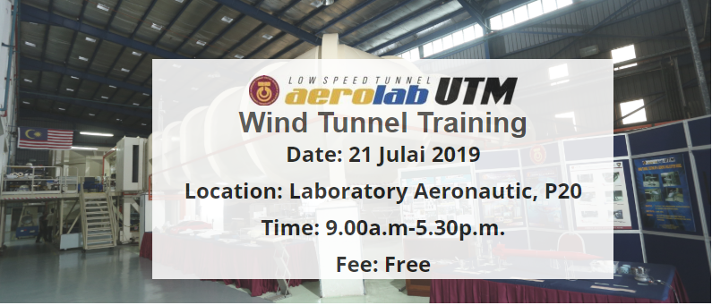 Training Windtunnel testing