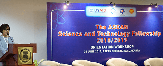 Faculty of Engineering lecturers appointed as ASEAN Science and Technology Fellow