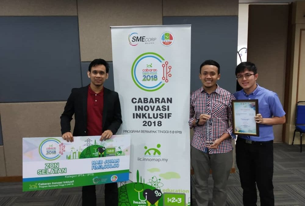 2 FACULTY OF ENGINEERING STUDENTS SECURED RM200,000 INNOVATION DEVELOPMENT FUND
