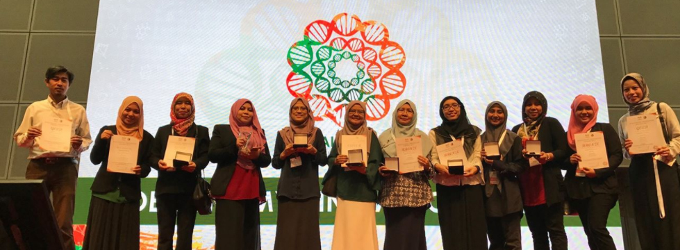 Congratulations to IBD UTM on Receiving Awards and Recognition During Biomalaysia 2017