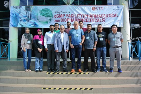 IBD UTM conducts 3 days course on cGMP facility
