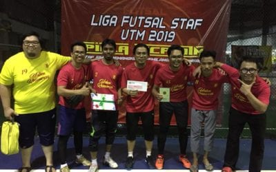 SCEE TEAM WON 5TH PLACE IN STAFF FUTSAL LEAGUES 2019