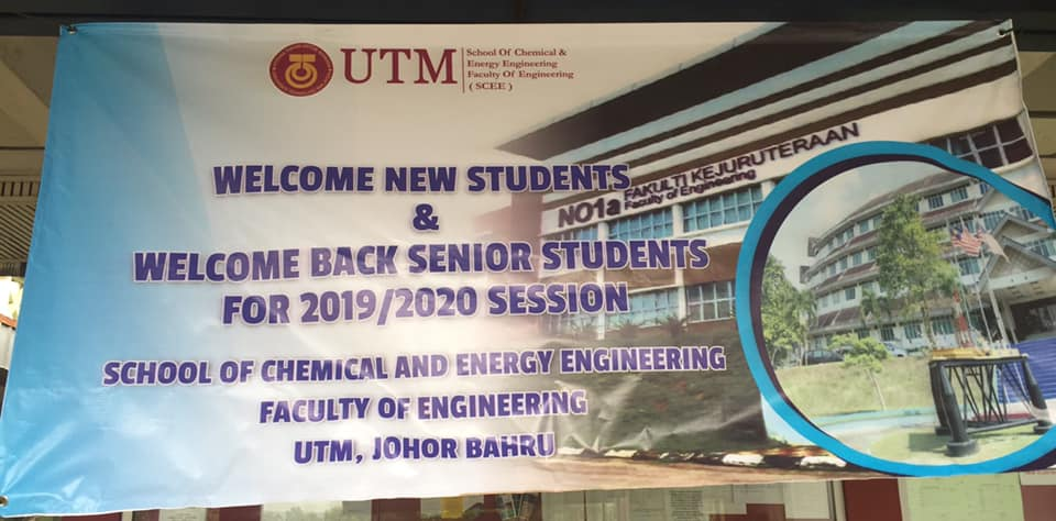 WELCOME NEW STUDENTS & SENIOR FOR 2019/2020 SESSION