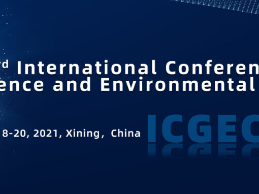 3rd International Conference on Geoscience and Environmental Chemistry (ICGEC 2021)