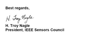 Top 50 the most downloaded paper of IEEE Sensor Journal | PCRG