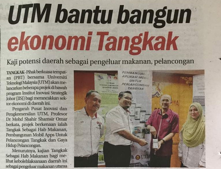 Congratulations Hj Hafiz And Team For The Achievement On Discover Tangkak!
