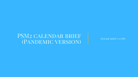 PSM2_S21920 Calendar Brief Pandemic version
