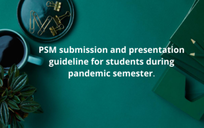 Student guideline for Submission and presentation.