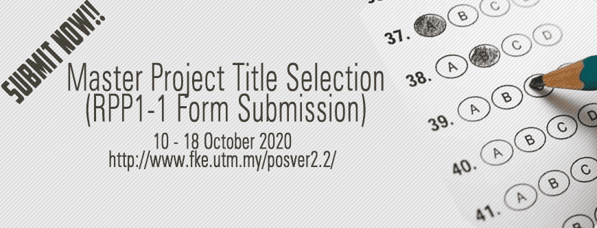Master Project Title Selection 20202021-1