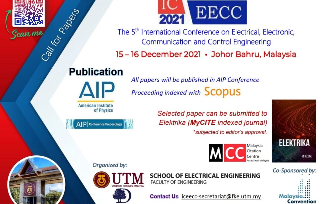Call for Papers – ICEECC 2021