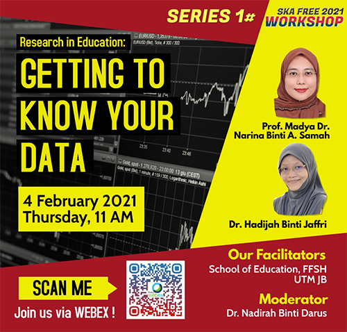 SKA FREE Workshop: Reseach in Education – Getting to Know Your Data
