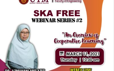 SKA FREE Webinar: An Overview of Cooperative Learning