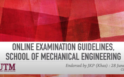 Online Examination Guidelines,School of Mechanical Engineering