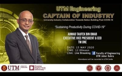 Captain of Industry #8 – Sustaining Productivity During COVID-19